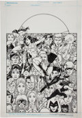 Original Comic Art:Covers, George Perez The New Teen Titans: Who is Donna Troy? TPBCover Original Art (DC, 2005)....