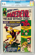 Silver Age (1956-1969):Superhero, Daredevil #1 Curator pedigree (Marvel, 1964) CGC NM+ 9.6 Whitepages....