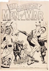 All-American Men of War Ashcan (DC, 1952) Condition: GD+