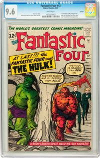 Fantastic Four #12 Curator pedigree (Marvel, 1963) CGC NM+ 9.6 White pages