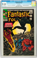 Silver Age (1956-1969):Superhero, Fantastic Four #52 Curator pedigree (Marvel, 1966) CGC NM/MT 9.8White pages....