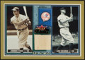 "Baseball Cards:Singles (1970-Now), 2002 Fleer ""Rival Factions"" Jimmie Foxx Bat Swatch card. ..."