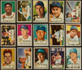 Baseball Cards:Lots, 1952 Topps Baseball (36 Different). ...