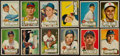 Baseball Cards:Lots, 1952 Topps Baseball Collection (22 Different)....