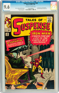 Tales of Suspense #50 (Marvel, 1964) CGC NM+ 9.6 Off-white to white pages
