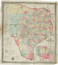 Miscellaneous:Maps, [Map]. J[acob] De Cordova. De Cordova's Map of Texas.Compiled from the Records of the General Land Office of the ...