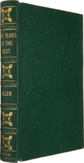 Books:Biography & Memoir, [William Allen (attributed)]. Five Years in the West; or, How an Inexperienced Young Man Finds his Occupation. Wit...