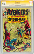 Silver Age (1956-1969):Superhero, The Avengers #11 Signed by Stan Lee (Marvel, 1964) CGC Signature Series NM+ 9.6 White pages....