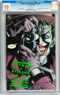 Modern Age (1980-Present):Superhero, Batman: The Killing Joke #nn Signed by Jerry Robinson (DC, 1988)CGC Gem Mint 10 White pages....