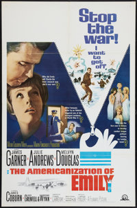 """The Americanization of Emily (MGM, 1964). One Sheet (27"""" X 41""""). Comedy"""