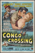 "Movie Posters:Adventure, Congo Crossing (Universal International, 1956). One Sheet (27"" X41""). Adventure.. ..."
