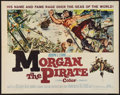"Movie Posters:Adventure, Morgan the Pirate (MGM, 1961). Half Sheet (22"" X 28""). Adventure....."