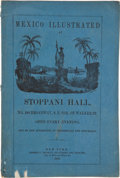 Miscellaneous:Booklets, [Mexican War]. Program to Part One of Mexico Illustrated at Stoppani Hall....
