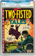 Golden Age (1938-1955):War, Two-Fisted Tales #21 Gaines File pedigree 6/10 (EC, 1951) CGC NM- 9.2 White pages....