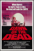 "Movie Posters:Horror, Dawn of the Dead (United Film Distribution, 1978). One Sheet (27"" X 41"") Red Style. Horror.. ..."
