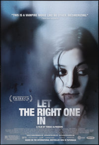 "Let the Right One In (Magnet Releasing, 2008). One Sheet (27"" X 40""). DS. Fantasy"