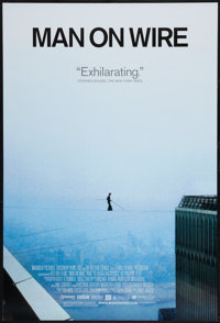 """Man on Wire (Magnolia Pictures, 2008). One Sheet (27"""" X 40"""") DS. Documentary"""