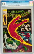 Silver Age (1956-1969):Superhero, The Amazing Spider-Man #77 (Marvel, 1969) CGC NM+ 9.6 White pages....