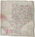 Miscellaneous:Maps, Charles W. Pressler. Traveller's Map of the State of Texas.Compiled, from the records of the General Land Office,...