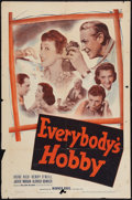 "Movie Posters:Adventure, Everybody's Hobby (Warner Brothers, 1939). One Sheet (27"" X 41"").Adventure.. ..."