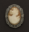 Estate Jewelry:Cameos, Outstanding Gold Cameo. ...