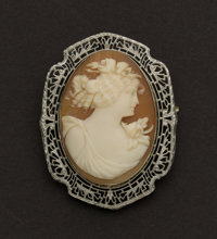 Outstanding Gold Cameo