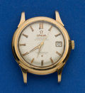 Timepieces:Wristwatch, Omega 18k Constellation Automatic. ...