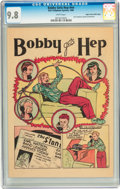 Golden Age (1938-1955):Non-Fiction, Bobby Gets Hep #nn Mile High pedigree (Frederick S. Clarke, 1946)CGC NM/MT 9.8 White pages....