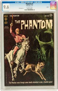 Phantom #1 Boston pedigree (Gold Key, 1962) CGC NM+ 9.6 Off-white pages