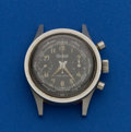 Timepieces:Wristwatch, Gallet Flying Officer Chronograph For Repair. ...