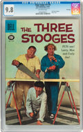Silver Age (1956-1969):Humor, Four Color #1170 Three Stooges - File Copy (Dell, 1961) CGC NM/MT 9.8 Off-white pages....