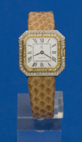 Timepieces:Wristwatch, Concord Two Tone Gold & Diamond Lady's Wristwatch. ...