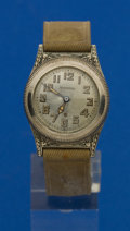 Timepieces:Wristwatch, Harwood Early Selfwinding Wristwatch. ...