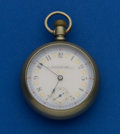Timepieces:Pocket (pre 1900) , Waltham Private Label With O'Hara Fancy Dial. ...