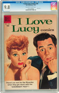 Silver Age (1956-1969):Humor, I Love Lucy #20 (Dell, 1958) CGC NM/MT 9.8 Off-white to white pages....