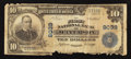 National Bank Notes:Georgia, Jefferson, GA - $10 1902 Plain Back Fr. 626 The First NB Ch. # 9039. ...