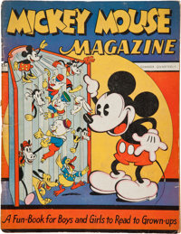 Mickey Mouse Magazine #1 (K. K. Publications/ Western Publishing Co., 1935) Condition: Fair