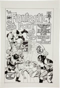 Original Comic Art:Covers, Angel Gabriele Fantastic Four #2 Skrulls Cover Re-CreationOriginal Art (undated)....