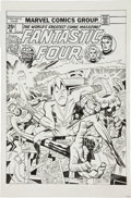 Original Comic Art:Covers, Angel Gabriele Fantastic Four #176 Impossible Man CoverRe-Creation Original Art (undated)....