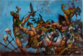 Original Comic Art:Covers, Simon Bisley 2000 AD #688 Cover Original Art (Fleetway,1990)....