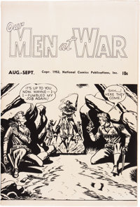 Our Men At War Ashcan Edition (DC, 1952) Condition: FN/VF