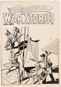 Golden Age (1938-1955):War, Star Spangled War Stories Ashcan Edition (DC, 1952) Condition: VG-....