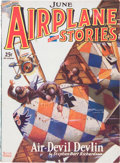 Pulps:Adventure, Airplane Stories V1#4 (Ramer Reviews, Inc., 1929) Condition: FN....