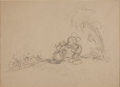 Animation Art:Production Drawing, Mickey's Man Friday Concept Drawing Animation Art (Disney,1935)....