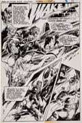 "Original Comic Art:Splash Pages, E. R. Cruz House of Mystery #258 ""Wake Up the Dead"" TitlePage 1 Original Art (DC, 1978)...."