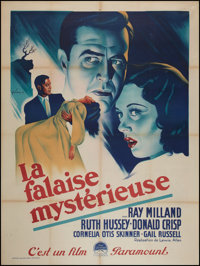 "The Uninvited (Paramount, Late 1940s). First Post-War French Grande (47"" X 63""). Horror"
