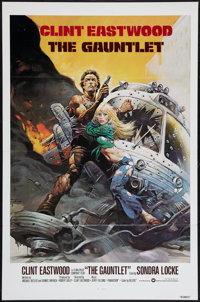 "The Gauntlet (Warner Brothers, 1977). International One Sheet (27"" X 41"") Flat Folded. Action"