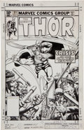 Original Comic Art:Covers, Keith Pollard Thor #311 Cover Original Art (Marvel,1981)....