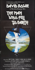 "Movie Posters:Science Fiction, The Man Who Fell to Earth (Lion International, 1976). British ThreeSheet (40"" X 80""). Science Fiction.. ..."