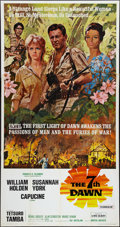 "Movie Posters:Adventure, The Seventh Dawn (United Artists, 1964). Three Sheet (41"" X 81"").Adventure.. ..."